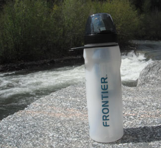 Aquamira Water Filter Bottle