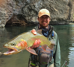 Lake City Angling Service Guide Ryan Ellis