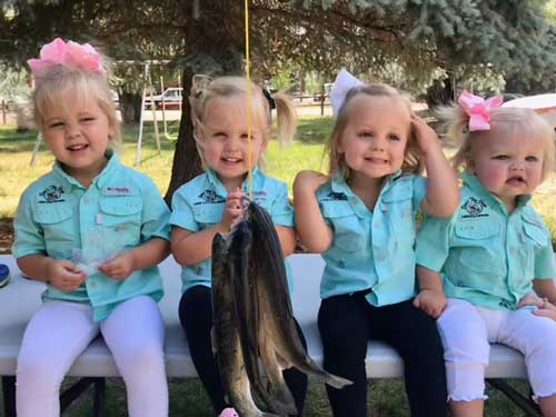 n the enduring spirit of Dan's Fly Shop, Don Peterson is starting his young granddaughters on the pathway to great fisher women.