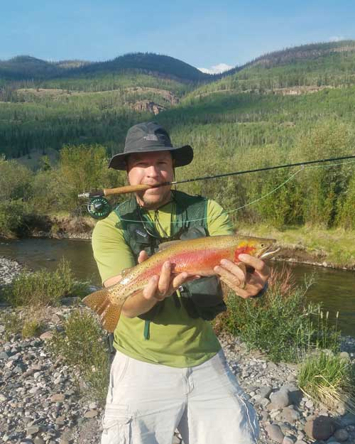 Jacob VanderZee caught this exceptional Cutthroat on July 5. Congrats!