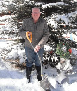It is time to get out the snow shovel and winter gloves.