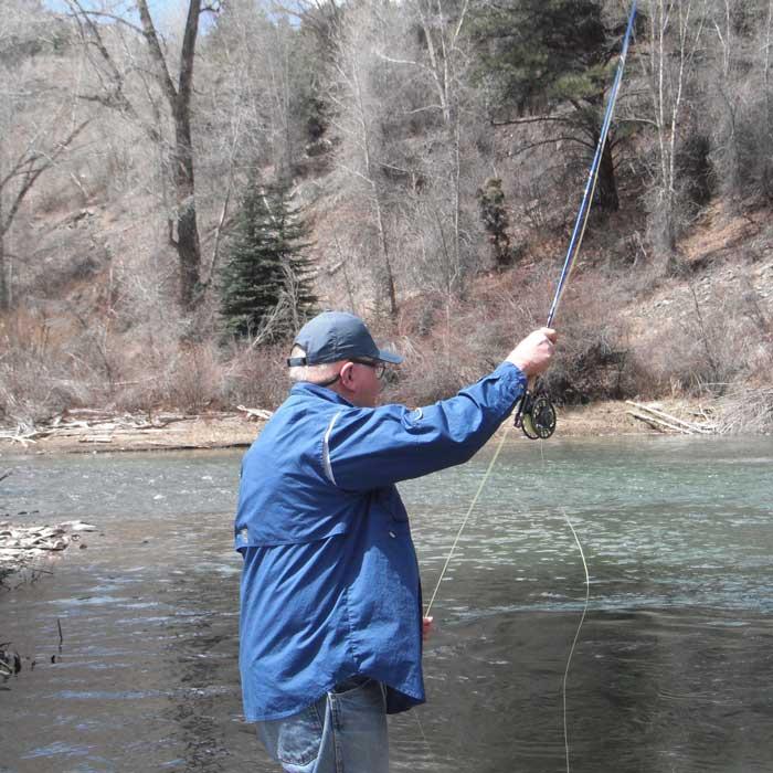 Fishing the Lake Fork