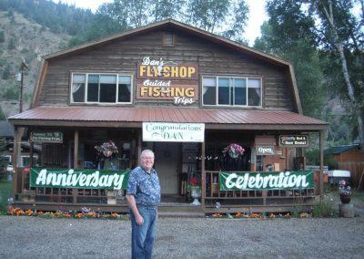 Anniversary Celebration Dan's Fly Shop Lake City, CO