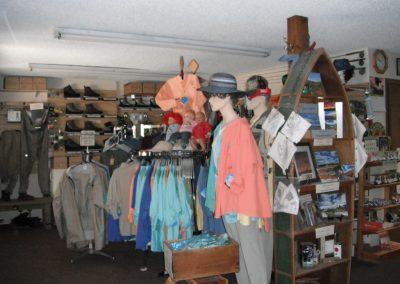 Store Display Dan's Fly Shop Lake City, CO